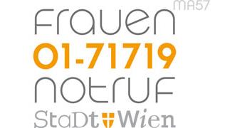 Logo 24-Stunden Frauennotruf (Stadt Wien)